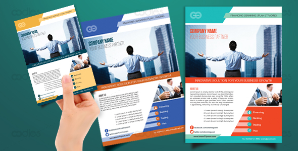 Direct Marketing flyer templates