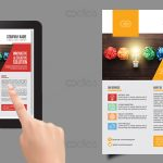 Corporate business flyer templates