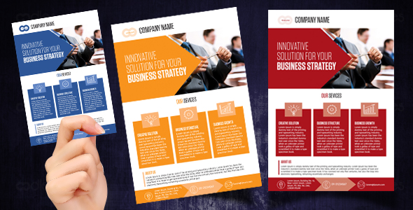 Corporate business design templates