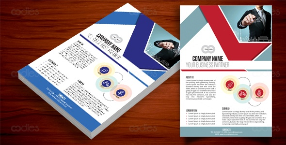 Travel business flyer design templates