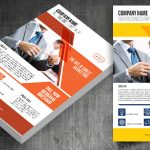 Business email flyer