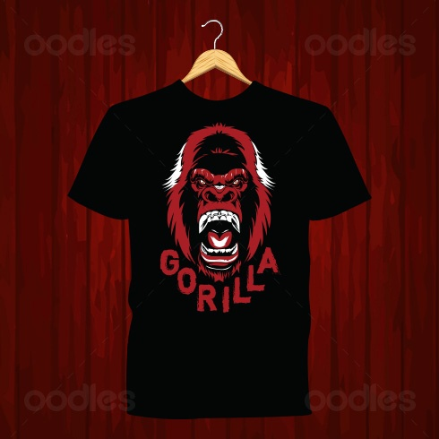 T-Shirt-design-Gorilla